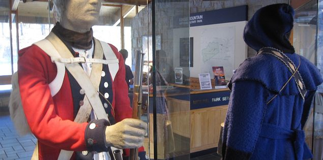 Visitor Center at Kings Mountain features revolutionary relics